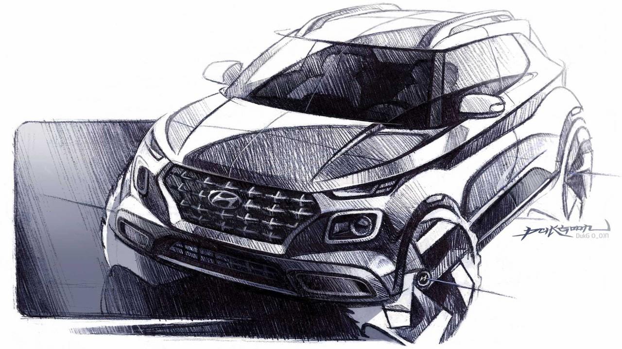 La Hyundai Venue verá la luz en el Auto Show de Nueva York 2019