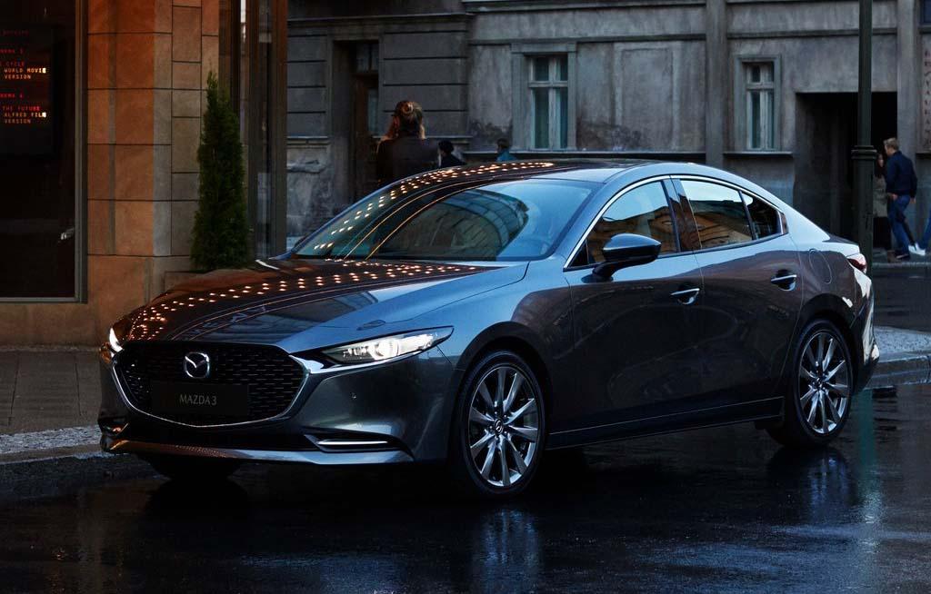 El Mazda 3 se fabrica en la planta de Salamanca, Guanajuato