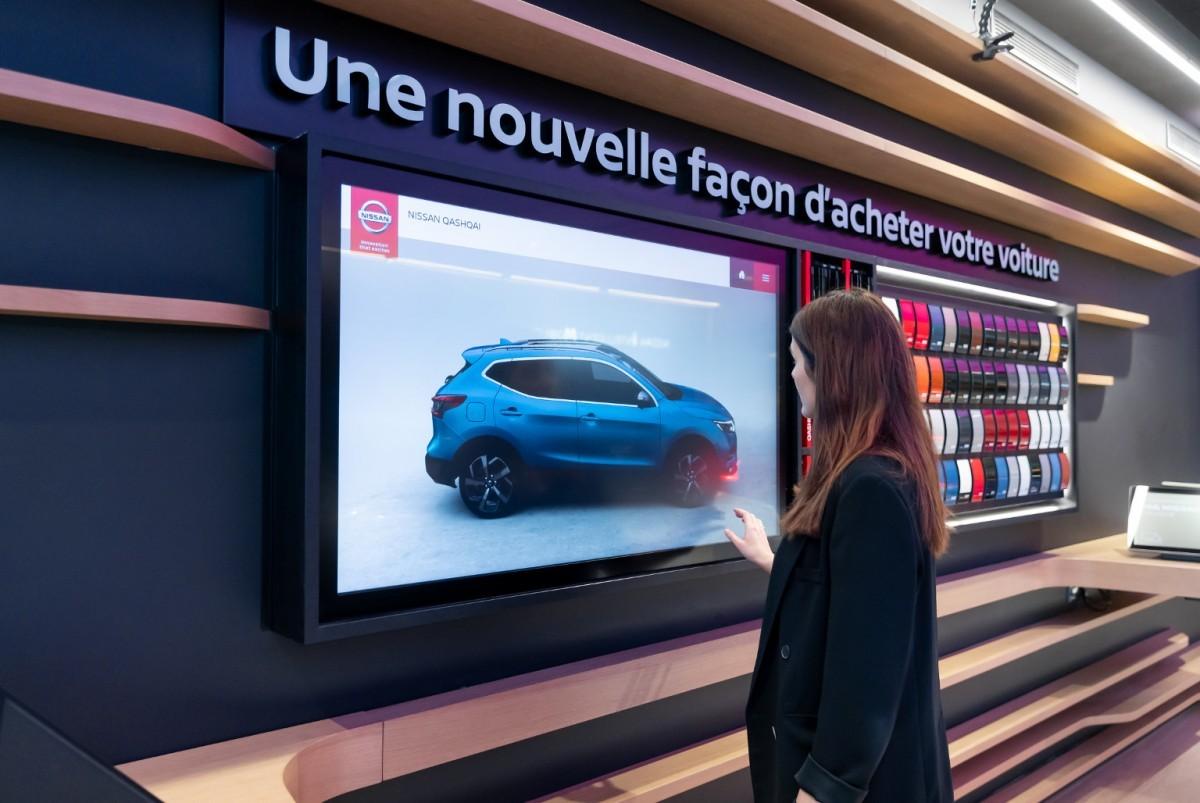 Los City Hubs acercan los autos de Nissan a los clientes potenciales