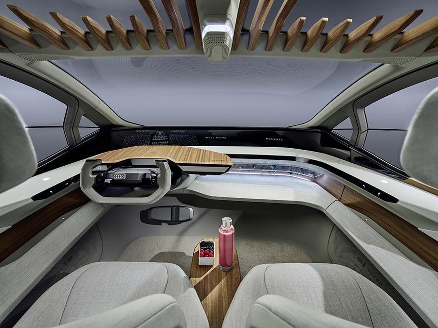Audi AI:ME interiores
