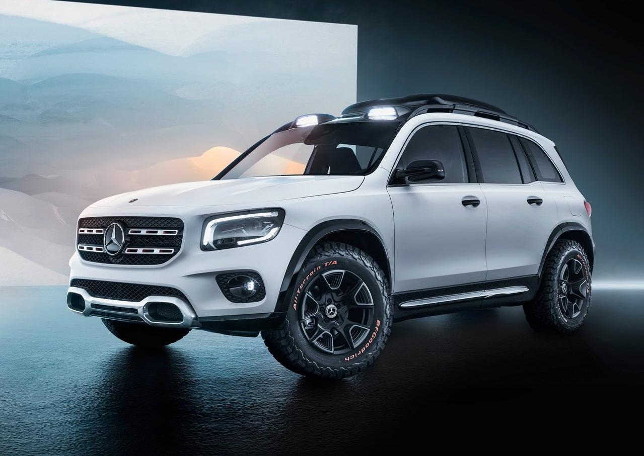 Mercedes-Benz GLB, la nueva SUV alemana se revela en Shanghái