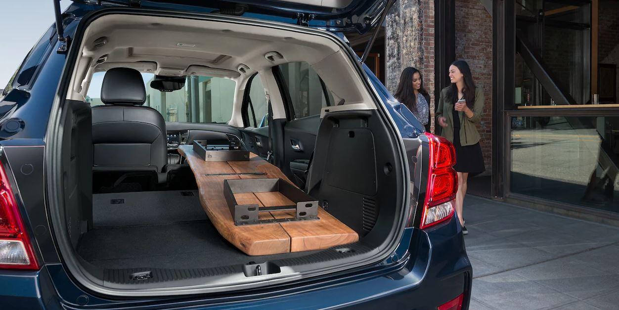Chevrolet Trax 2019 cajuela