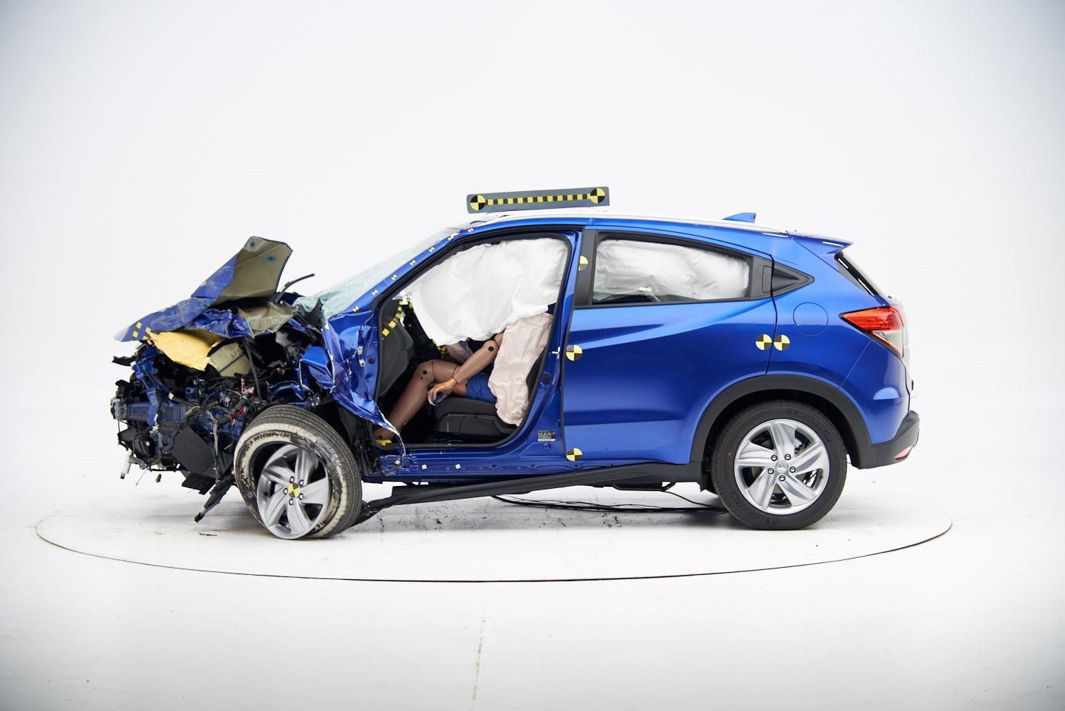 El debut de Honda en Nueva York: una HR-V chocada