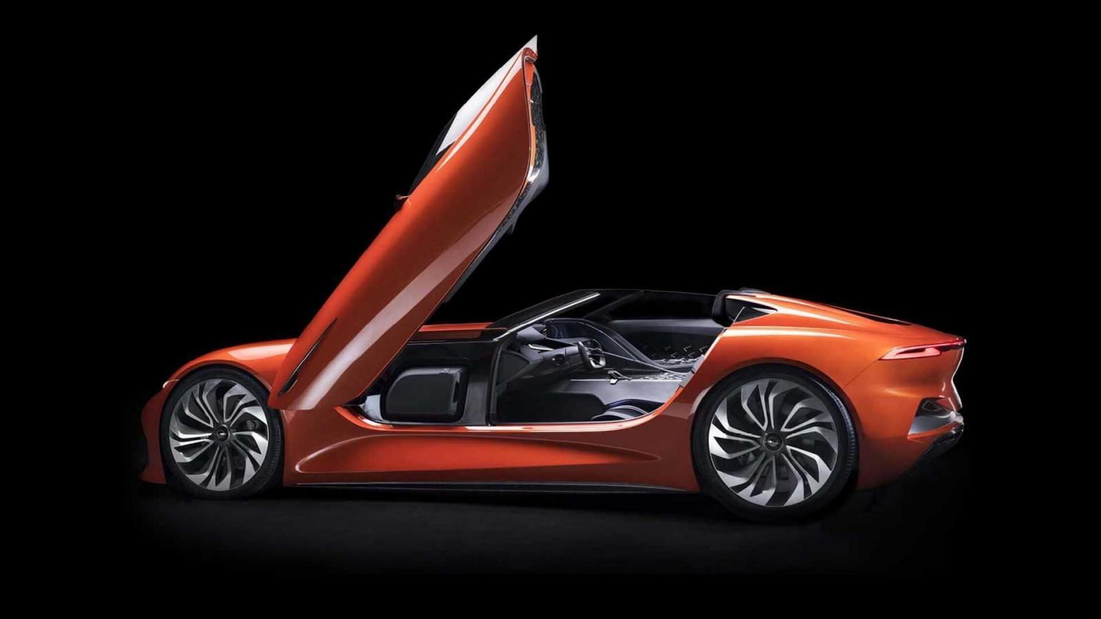 El Karma SCI Vision Concept tiene un diseño extremo y con detalles futuristas