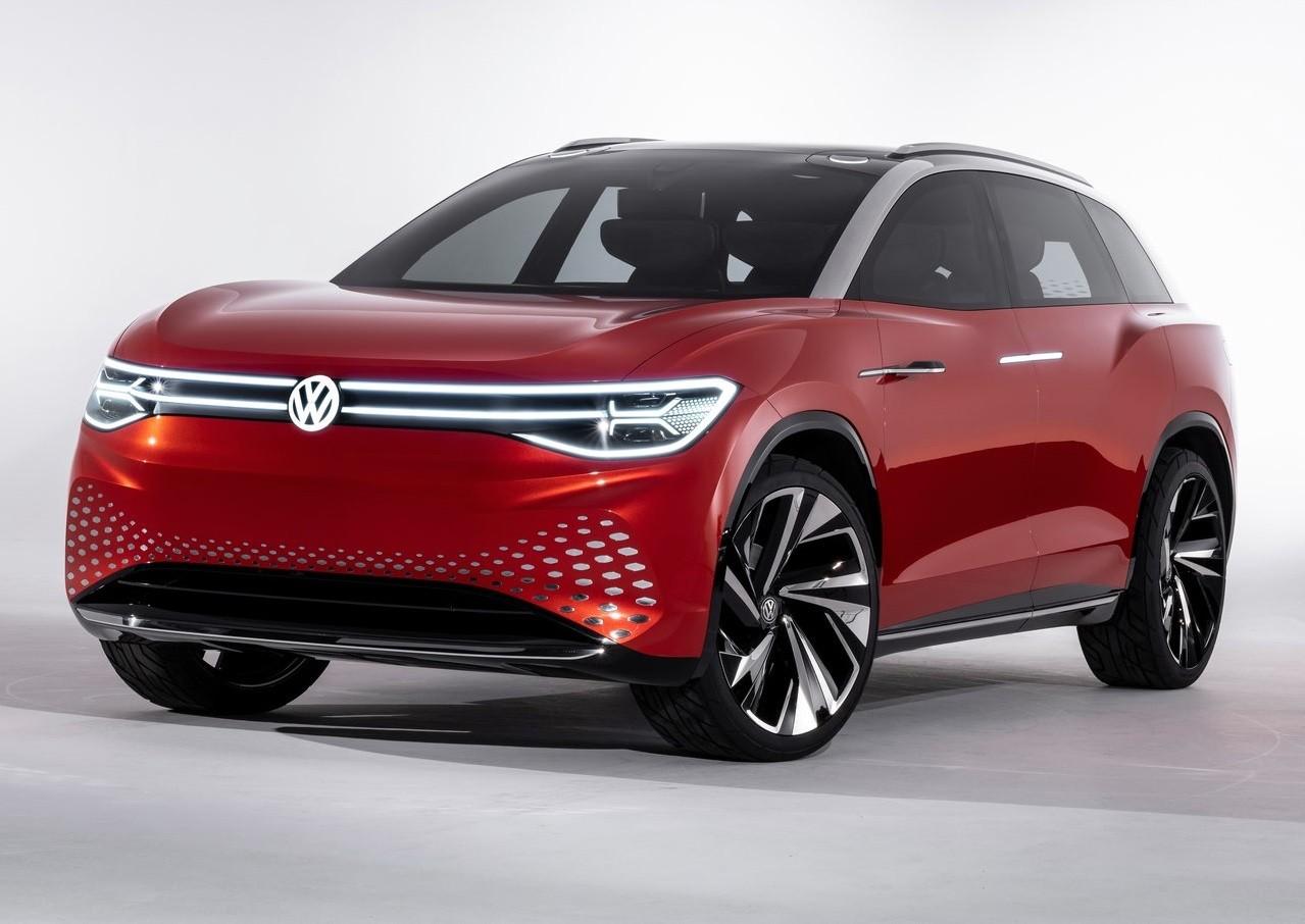 La nueva Volkswagen I.D. Roomzz está pensada como una SUV de tamaño mediano