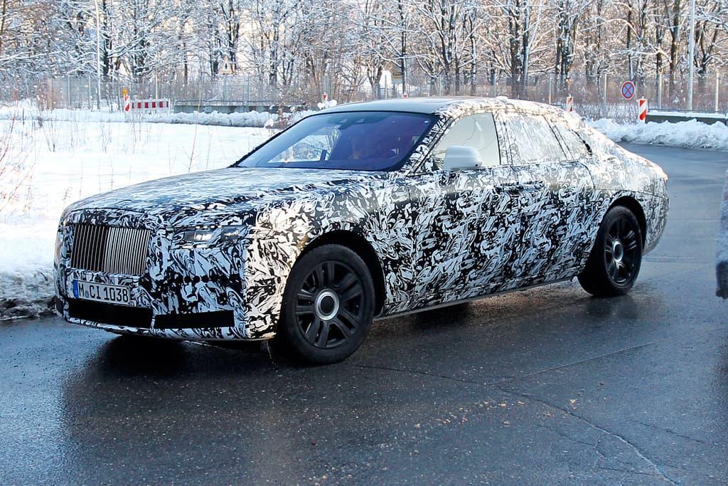 Rolls-Royce Ghost Camuflaje