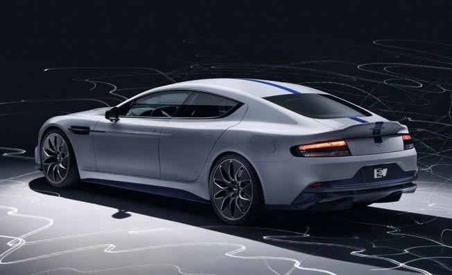 Aston Martin Rapide E, deportividad y elegancia 100% eléctrica