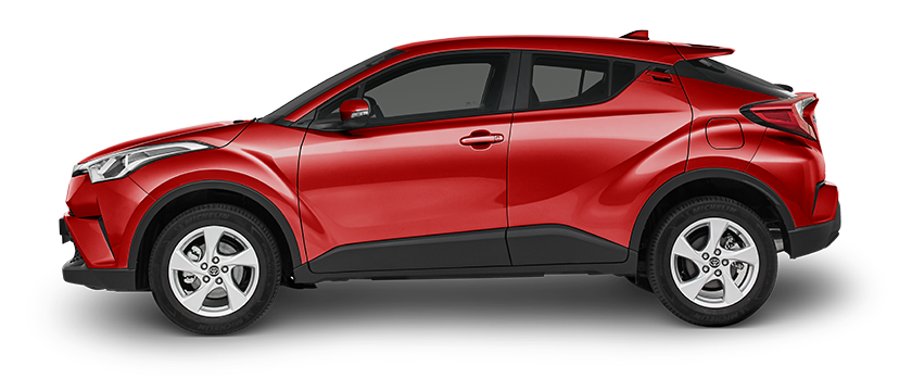 La Toyota CHR 2019 presenta un diseño muy agresivo y moderno