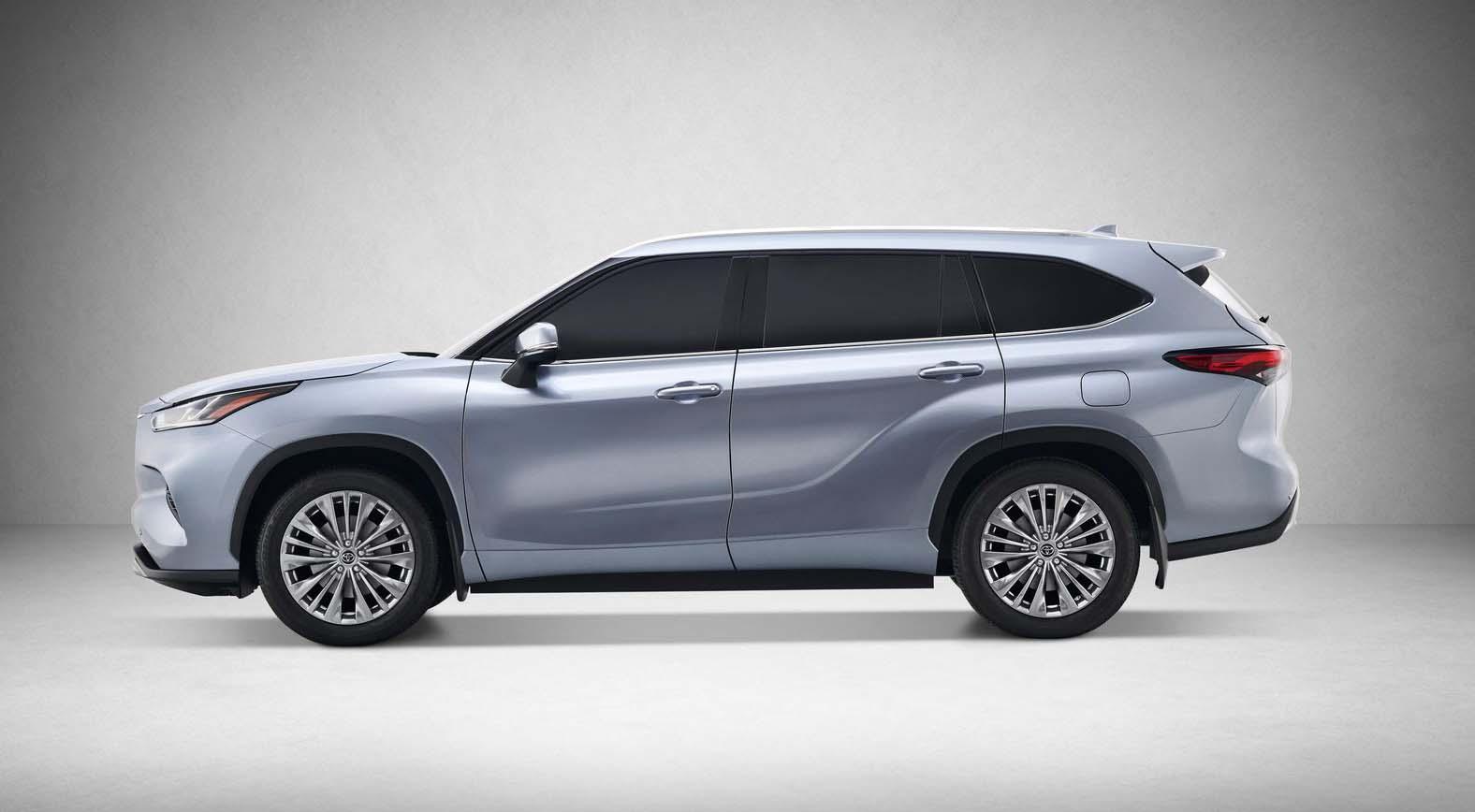 La Toyota Highlander 2020 se reinventó