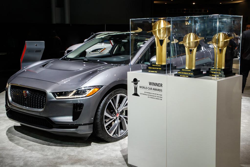 [Auto Show de Nueva York] La Jaguar I-Pace arrasó en los World Car of the Year 2019