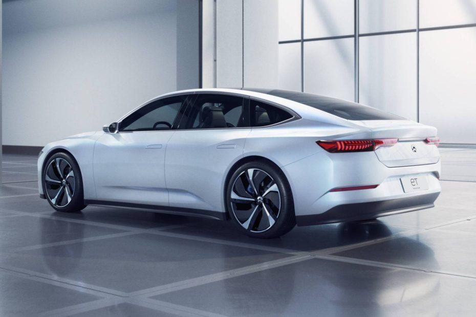 El Nio ET Preview sorprende por tener un diseño menos exótico que el Tesla Model 3