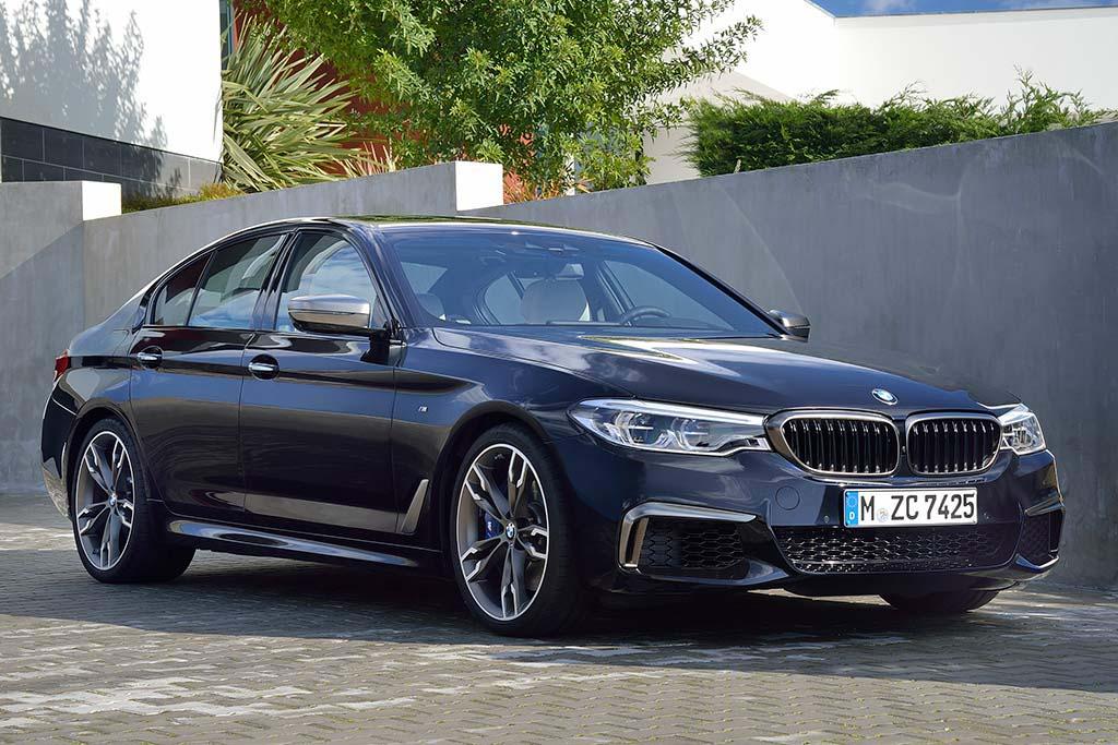 El BMW Serie 5 séptima generación es la que se vende actualmente