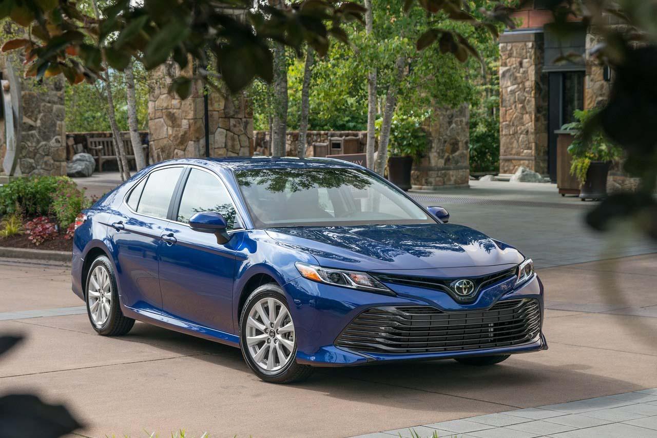 El Toyota Camry de octava generación se empezó a producir en 2017