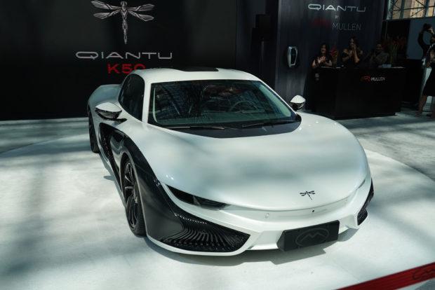 [Auto Show de Nueva York] De China a Nueva York, el Qiantu K50 quiere conquistar el segmento de deportivos