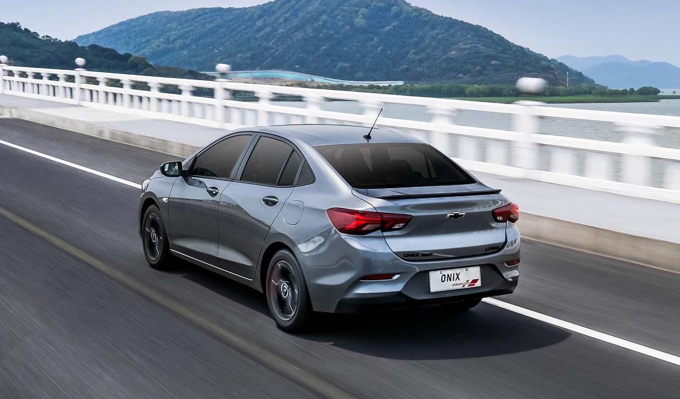 Chevrolet Onix 2020 está creado a partir de la plataforma GEM