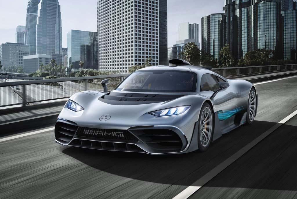 Tres de los Mercedes-Benz AMG PROJECT ONE que se produjeron están en México