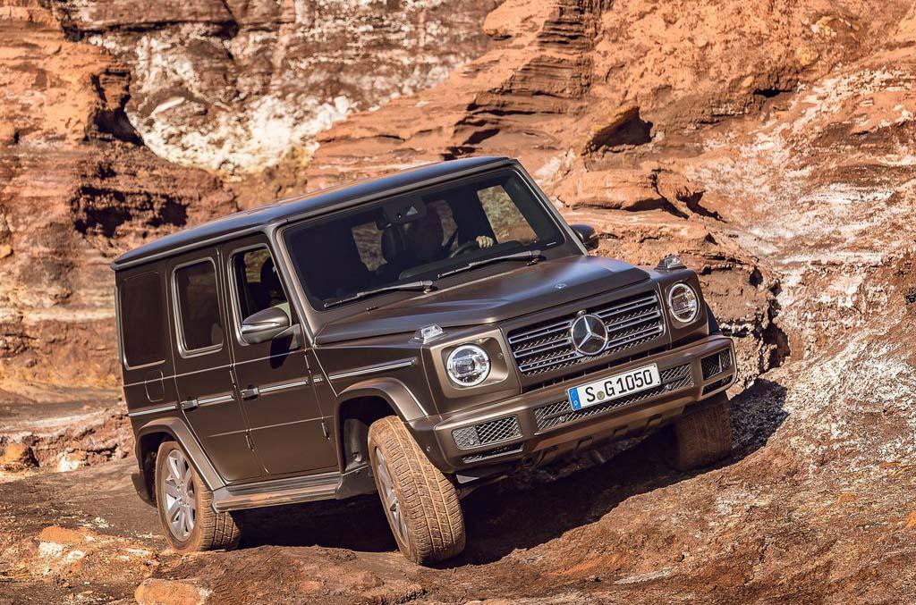 La Mercedes-Benz Clase G también es conocida como la G-Wagen
