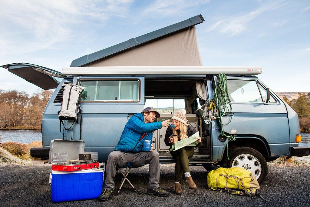 Acampar con tu auto