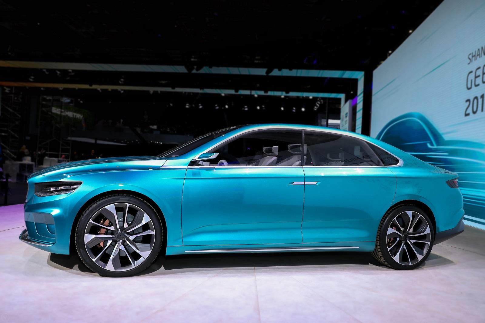 [Auto Show de Shanghái] Geely Preface Concept, la apuesta china para los sedanes del futuro