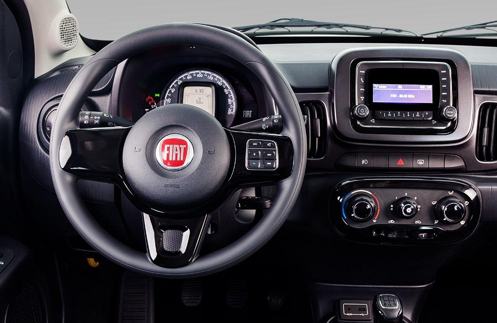Interior FIAT Mobi Like 2019