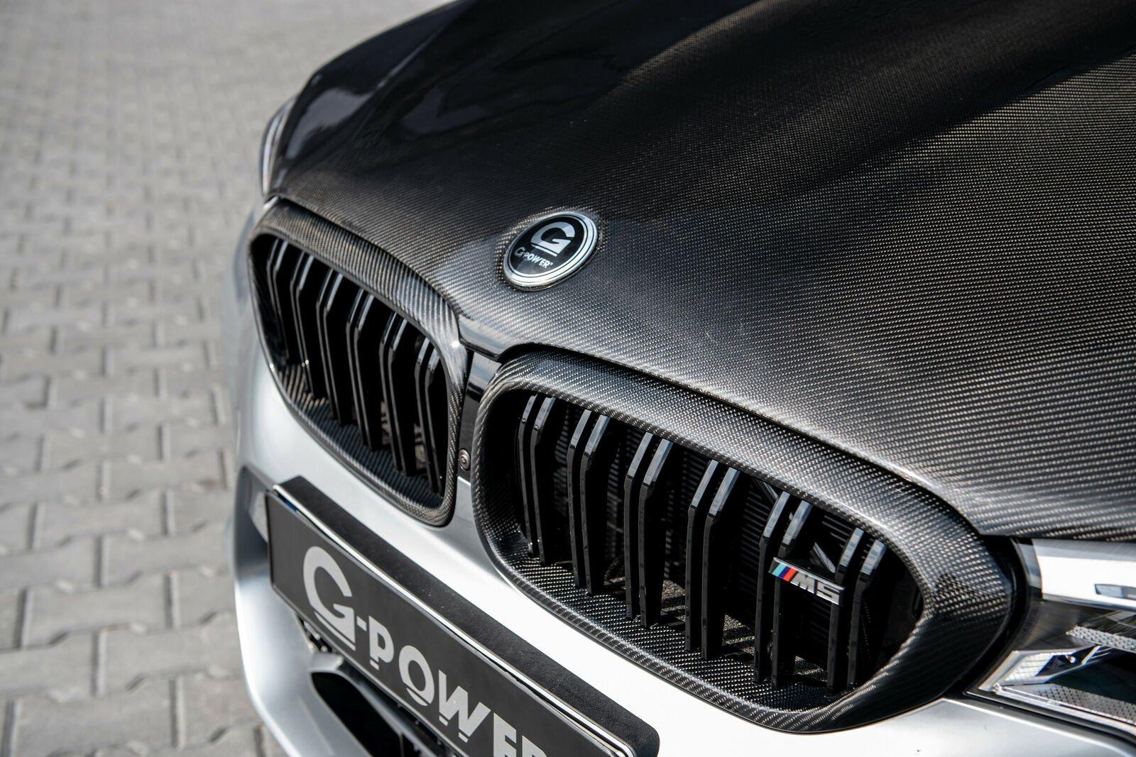 La preparación del BMW M5 no es económica, especialmente, si se decide incorporar el cofre de fibra de carbono