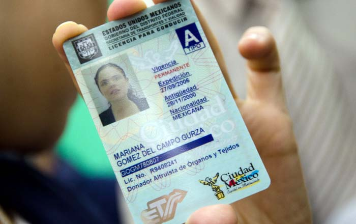 La licencia de manejo ya se puede tramitar en línea