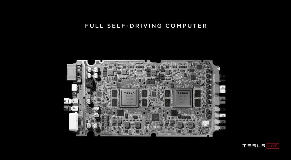 Tesla Chip