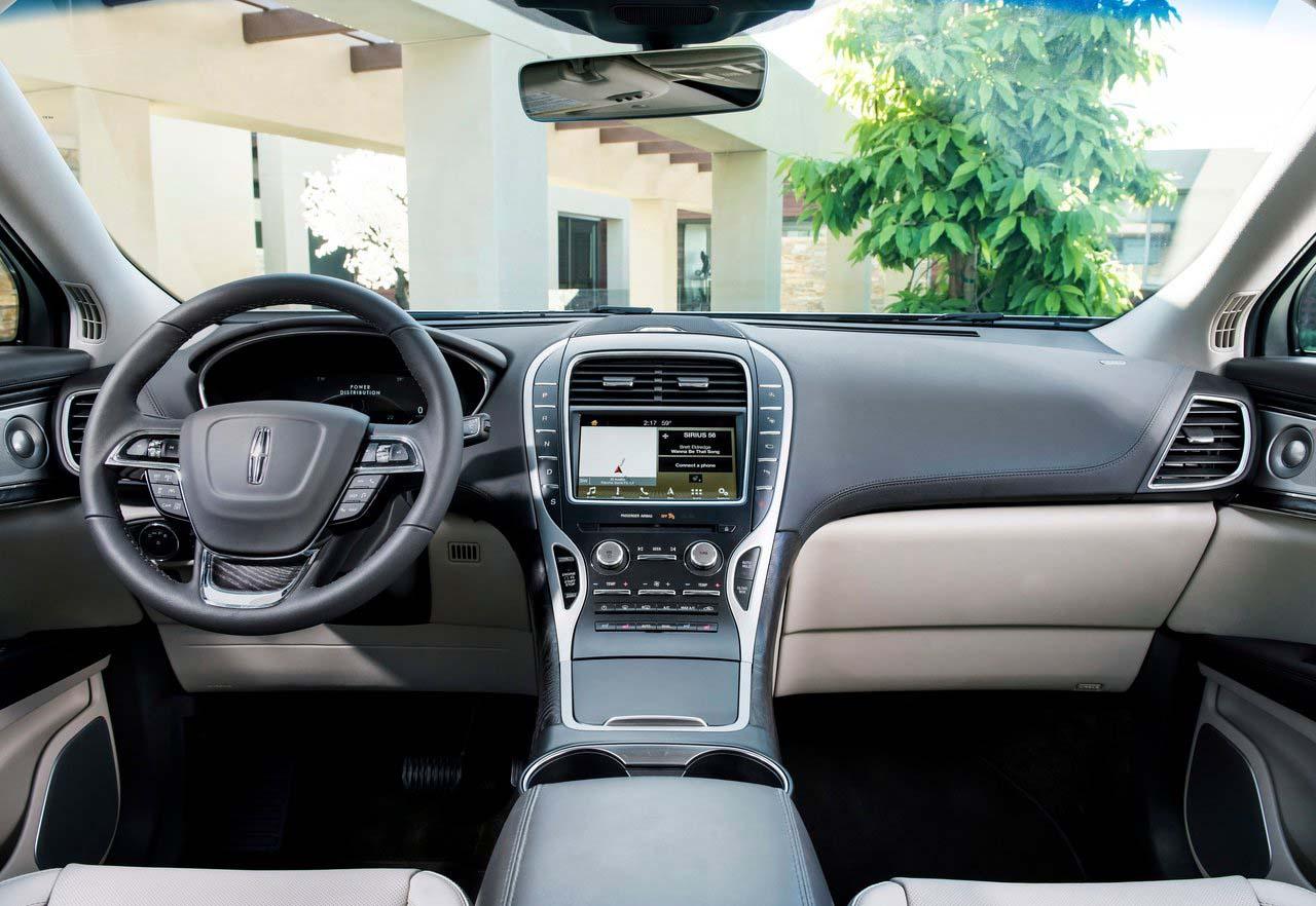 La Lincoln Nautilus 2019 conjuga un diseño de vanguardia con las tecnologías más avanzadas