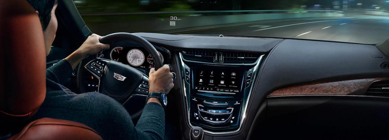 La conducción del Cadillac CTS precio en México es una de sus principales cartas de presentación