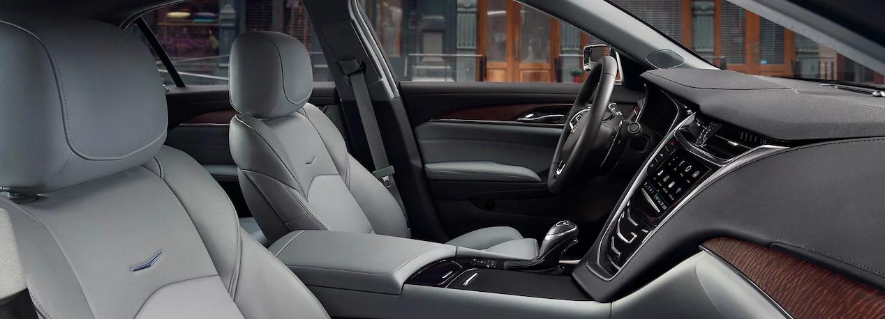 El interior del Cadillac CTS precio en México incorpora materiales de alta calidad