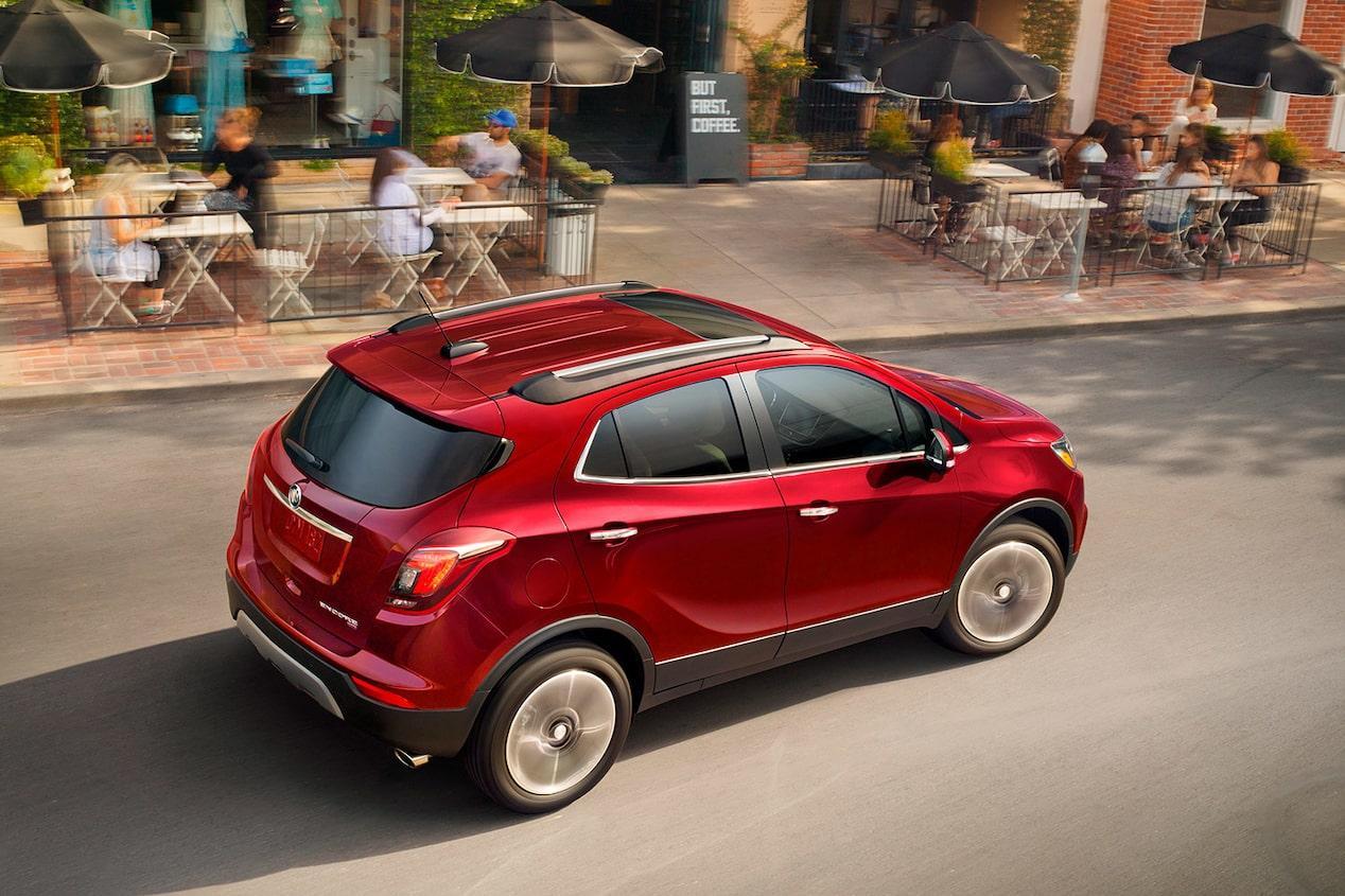 La Buick Encore CXL-Premium 2019 presume gran confort para viajes en ciudad y carretera
