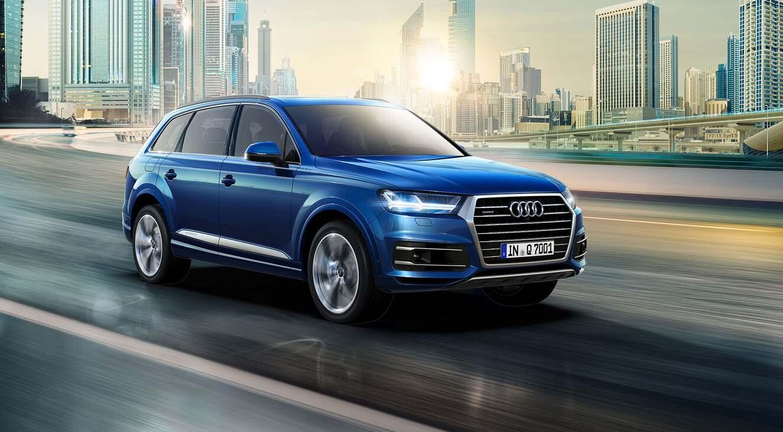El diseño exterior de la Audi Q7 2019 precio en México tiene algunas similitudes con los A7