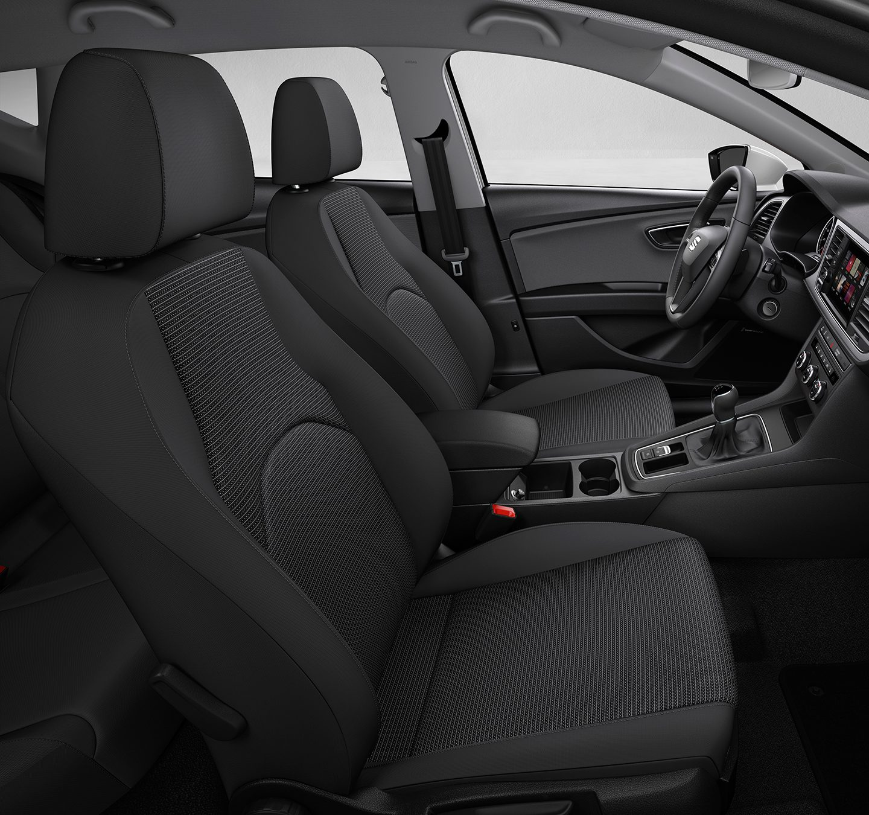 La SEAT Leon ST 2019 precio en México incorpora asientos en tela muy cómodos