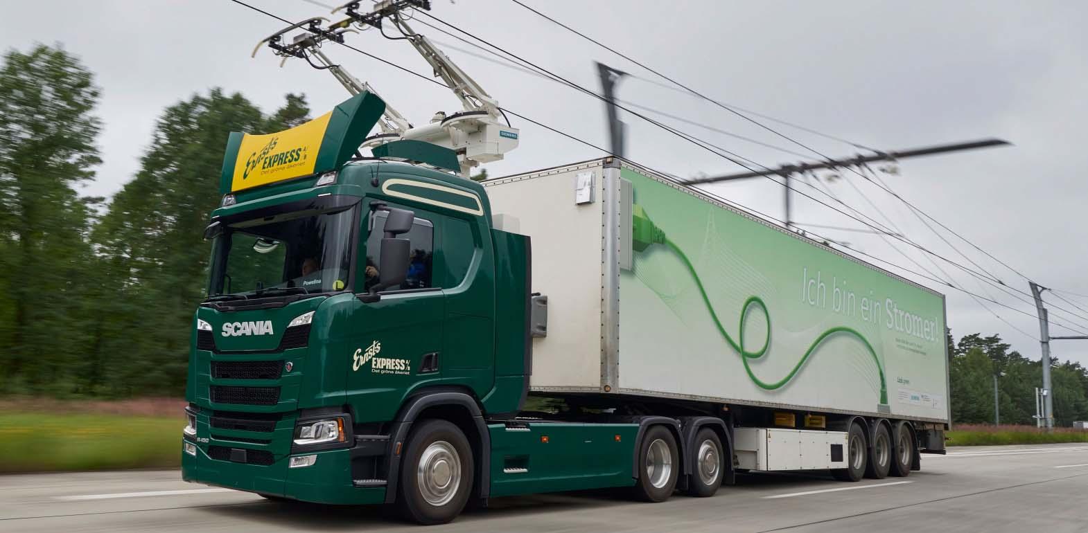 La eHighway ya es una realidad en Alemania