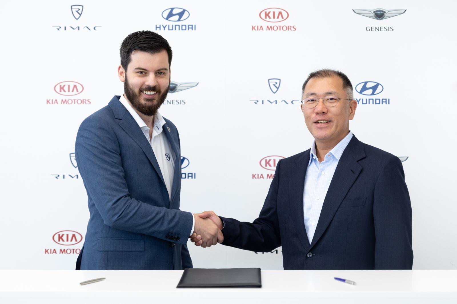 Hyundai y Rimac se asocian para desarrollar autos eléctricos