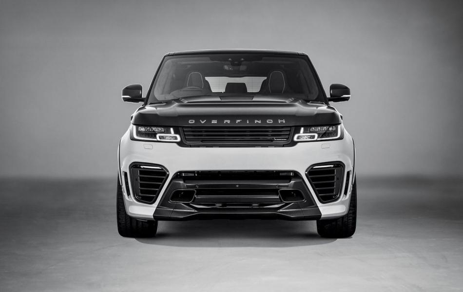 Así luce la Range Rover Sport SVR Overfinch de alta personalización