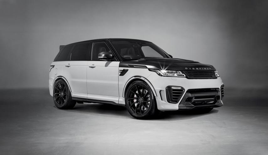 Solo habrá 25 unidades para la venta de la Range Rover Sport SVR Overfinch
