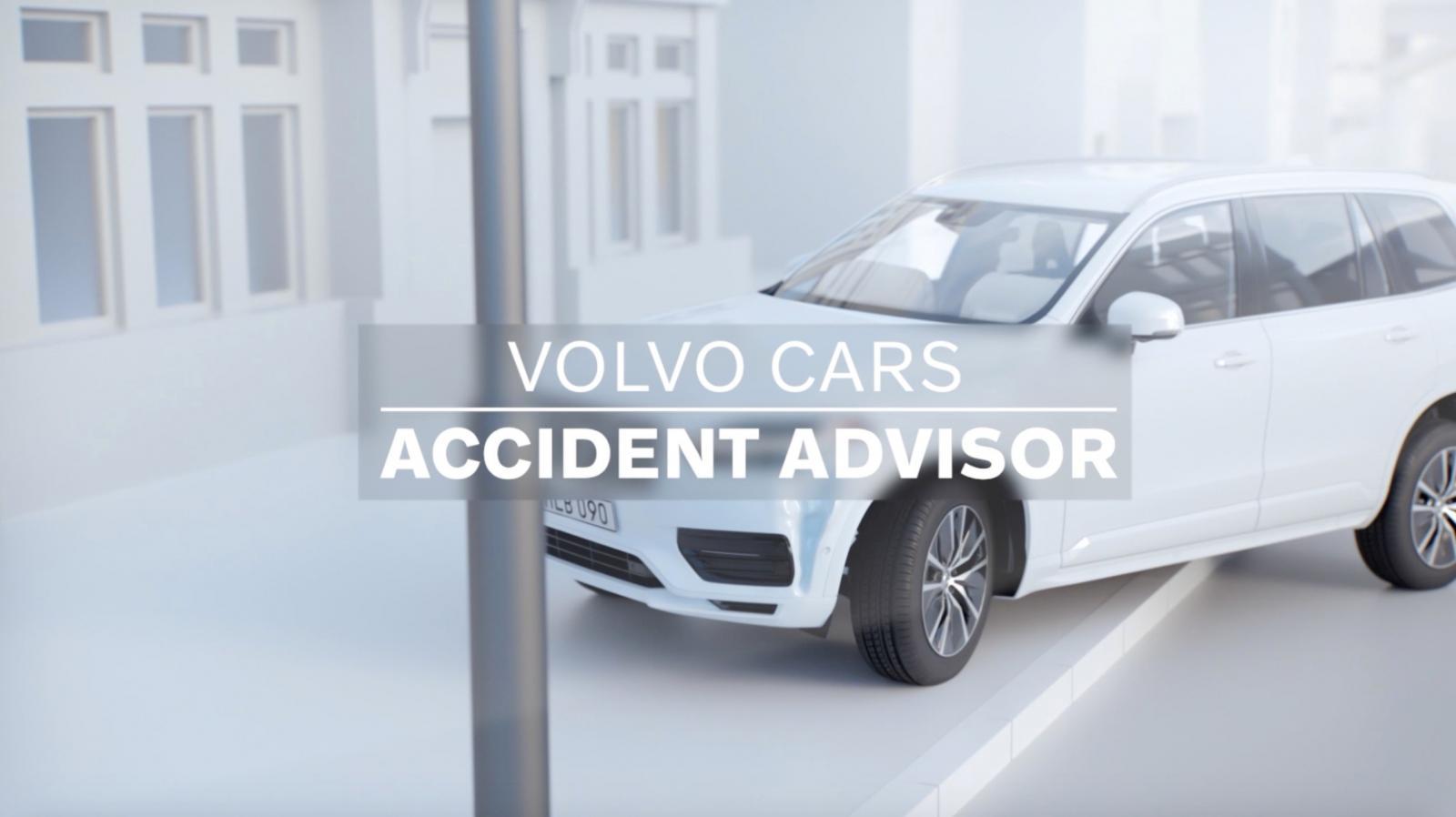Volvo Car Accident Advisor la primera app que te brinda asistencia tras un accidente