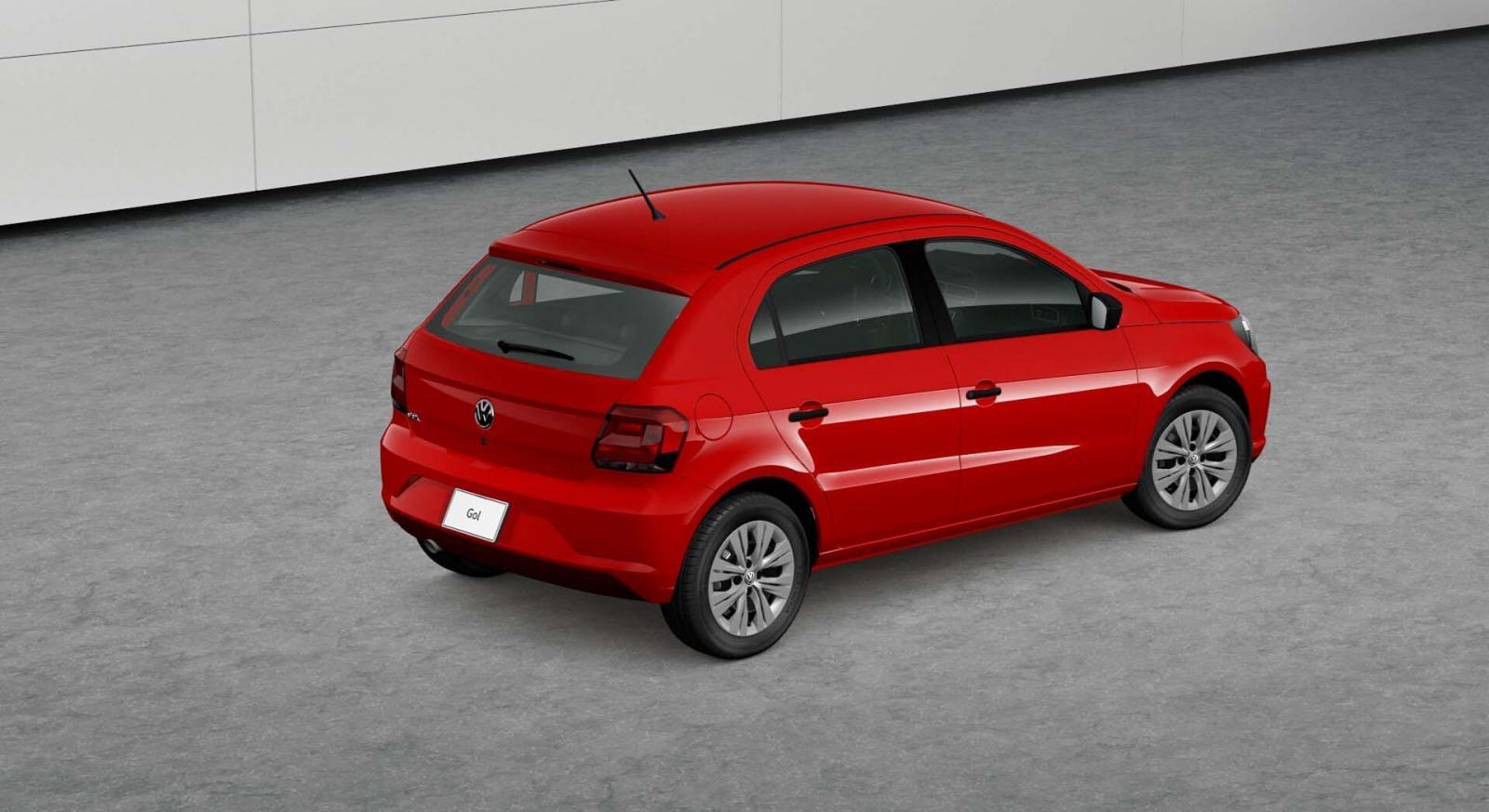 El Volkswagen Gol 2019 tiene 3.8 metros de largo