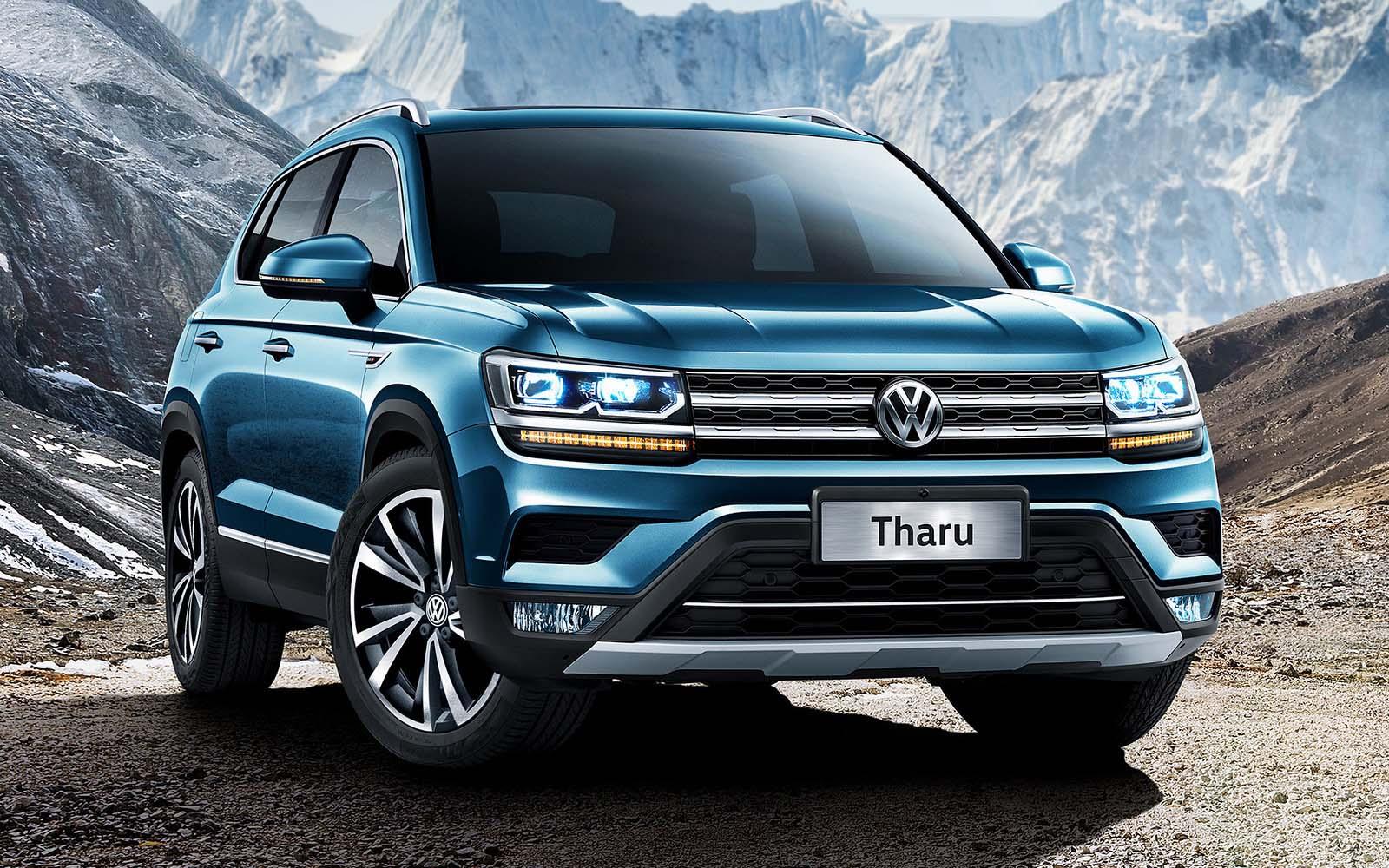 La Volkswagen Tharu será la base para la Tarek