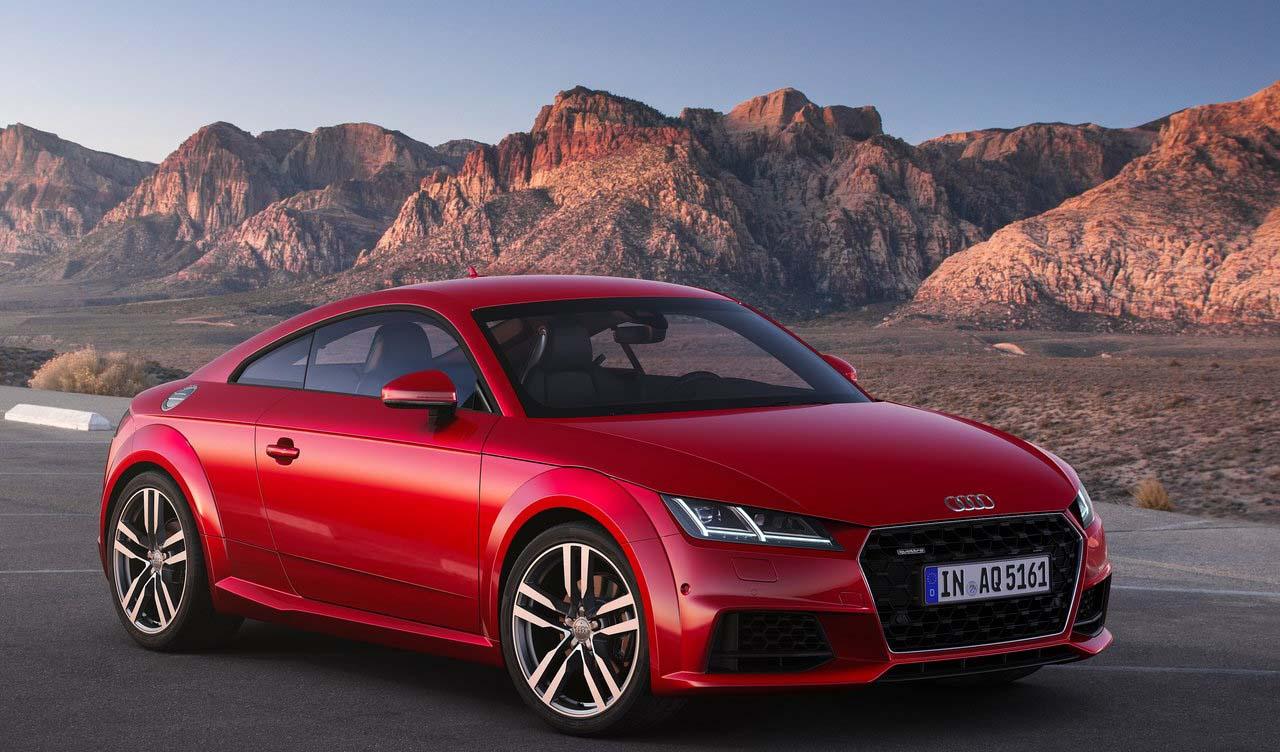 El Audi TT está en su tercera generación