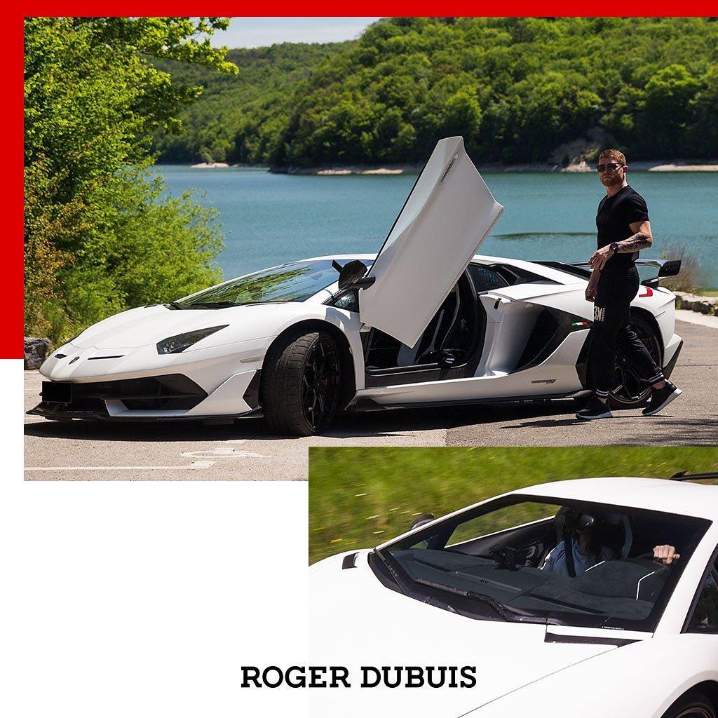 Roger Dubuis le facilitó el Lamborghini Aventador SVJ al popular boxeador mexicano