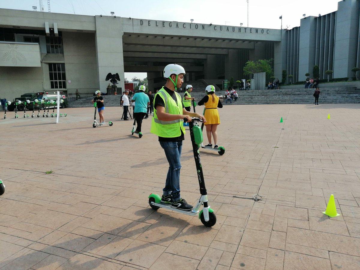 Escuela Patín. ¿Cómo conducir un scooter en CDMX?