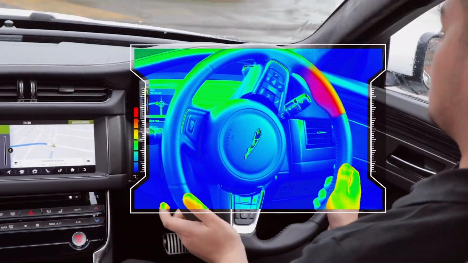 Jaguar Land Rover considera que las alertas térmicas pueden ser más efectivas que cualquier otro sistema