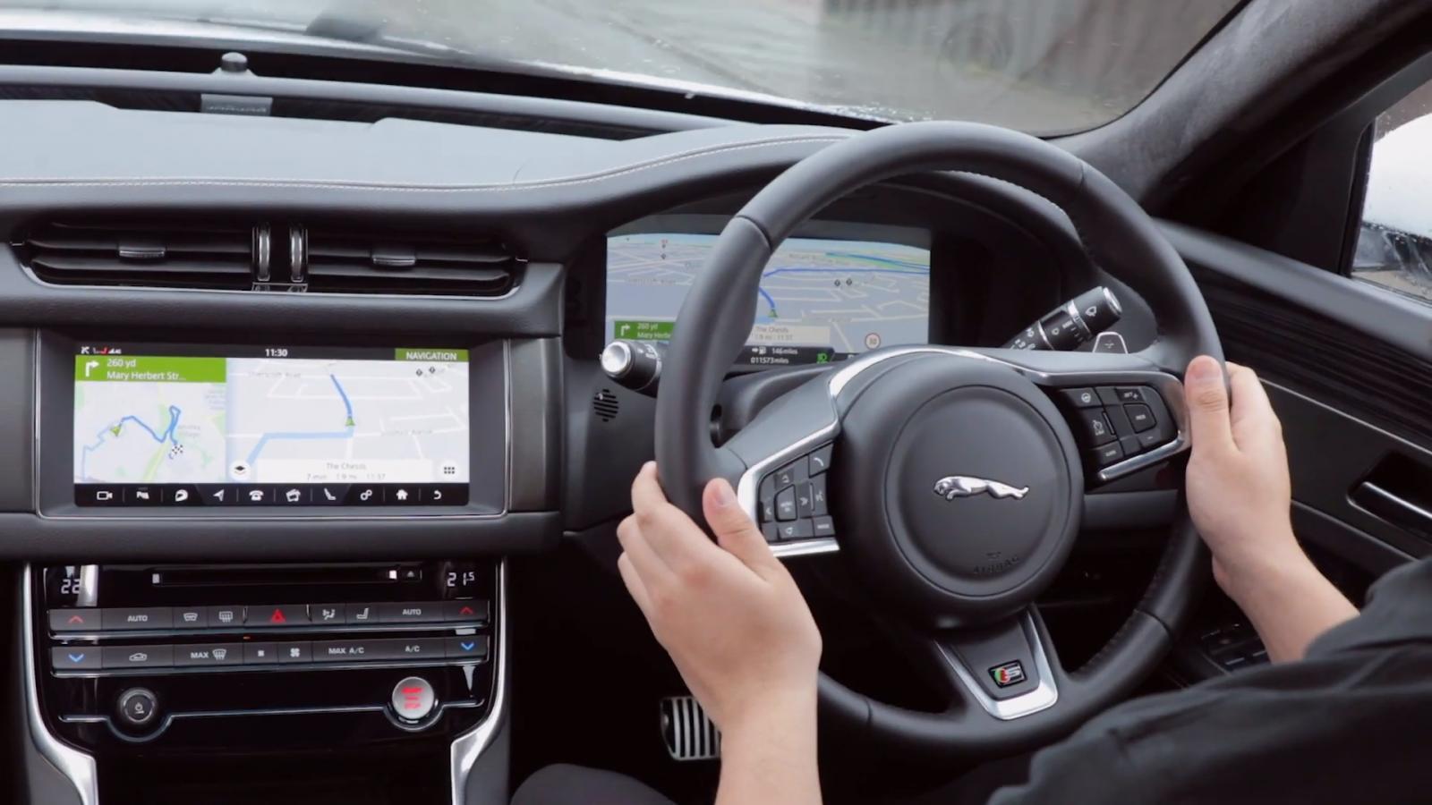 El volante de Jaguar Land Rover gira en torno a las variaciones de temperatura