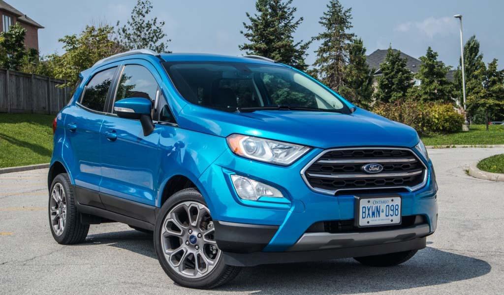 La Ford EcoSport llega a México desde India