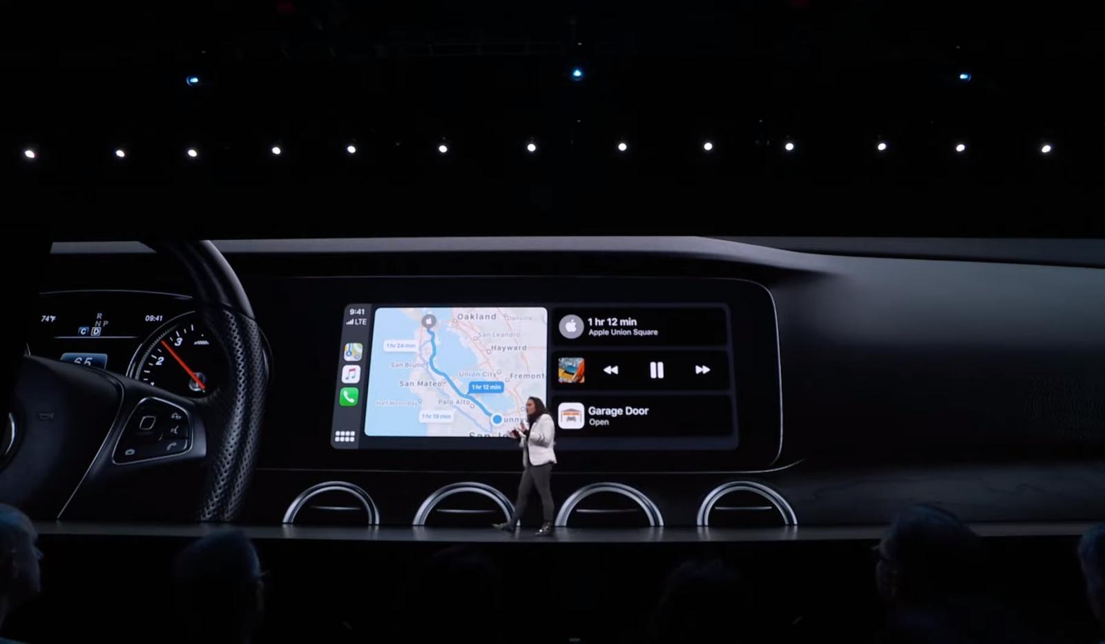Apple CarPlay WWDC 2019