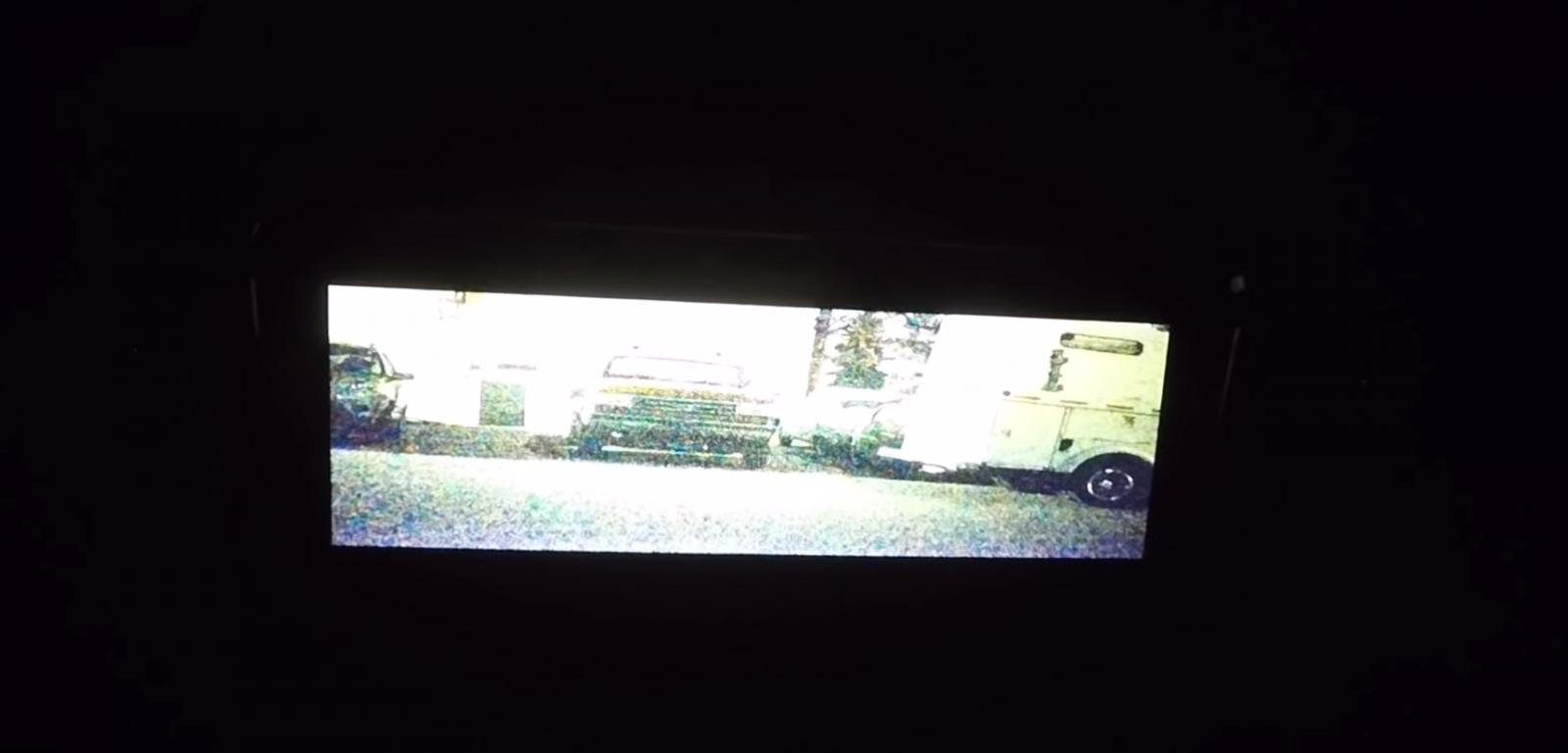 Foto sistema de visión nocturna en acción