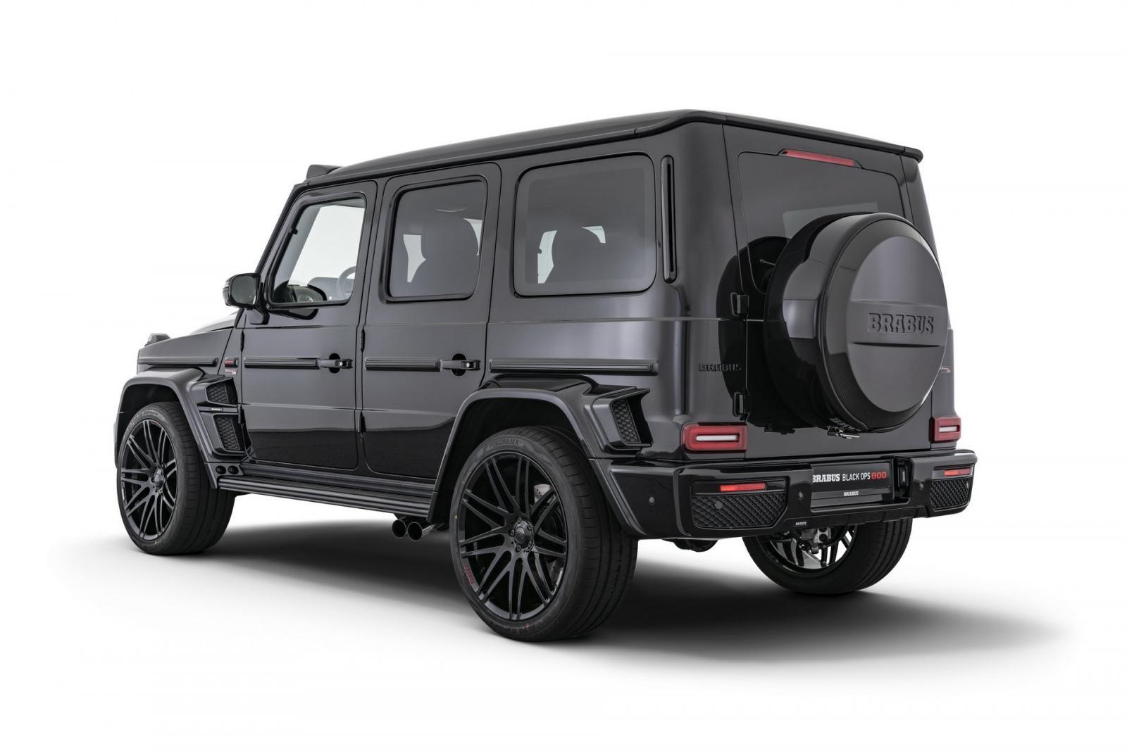 Mercedes-AMG Black Ops y Shadow, dos SUV extremas creadas por Brabus