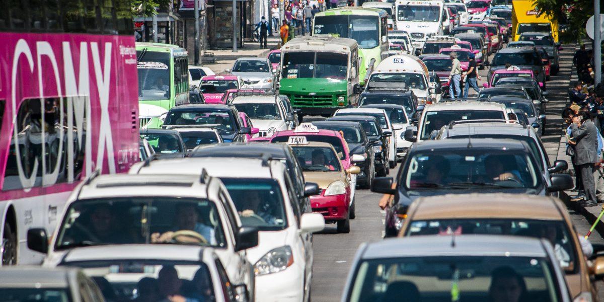 Congestión vial CDMX